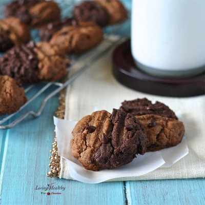 Two-toned Chewy Cookies (gluten-free, grain-free, dairy-free, Paleo)