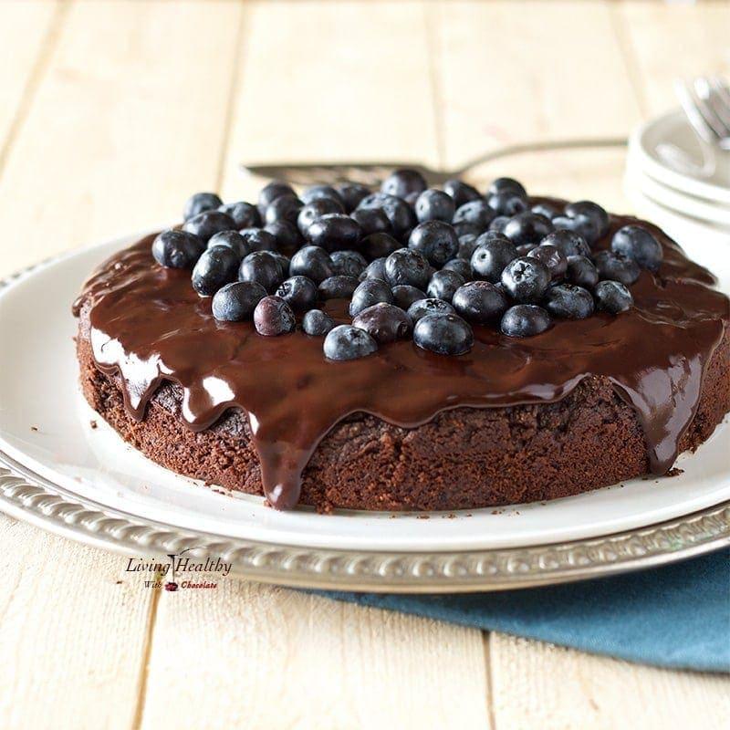 Jamie Oliver Chocolate Ganache Cake