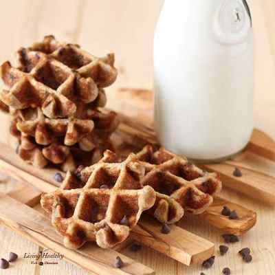 Chocolate Chip Waffle Cookies (gluten-free, nut-free, Paleo)