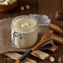 White Chocolate Macadamia Nut Butter (Paleo, gluten-free) by #LivingHealthyWithChocolate