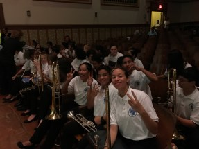 Band Chirstmas concert: middle school