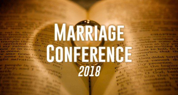 Marriage Conference 2018