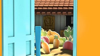 fresh organic produce just at doorstep
