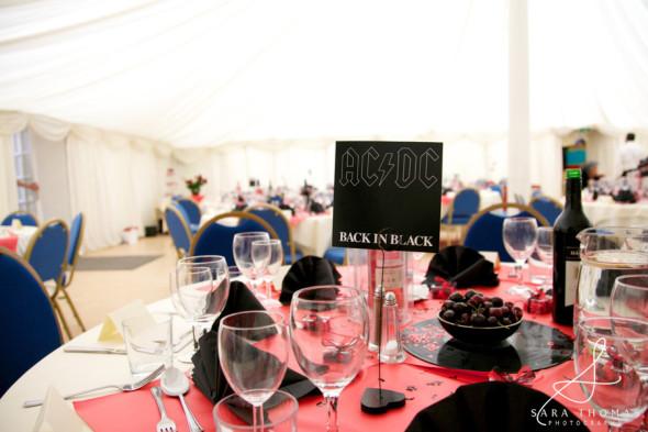 Theme Wedding Ideas- Rock 'n' Roll Themed Wedding