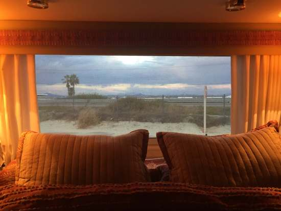 Cozy through the 2015 Thanksgiving storm. Silver Strand State Beach
