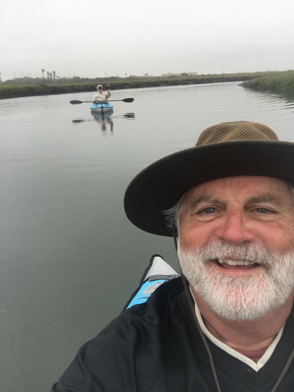 The Tijuana Estuary at high tide, California