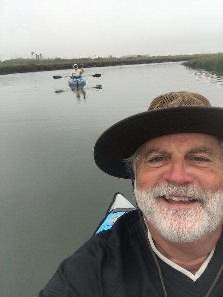 The Tijuana Estuary at high tide