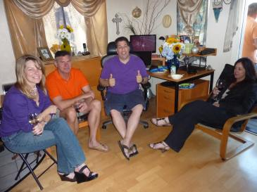 Julie, Pete, Brad and Denise