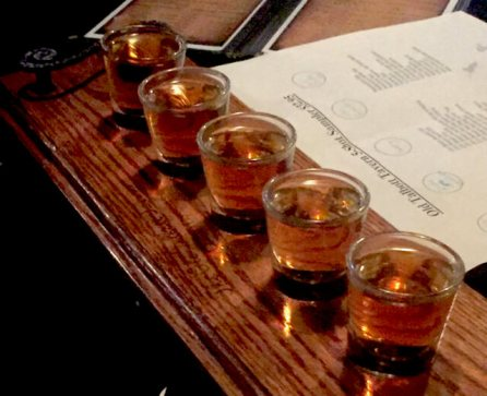 (We chose 5 bourbons that we were not going to visit their distillery on this trip)