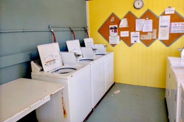 Ho Hum RV Park laundry room