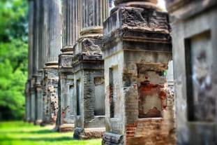 windsor ruins closeup