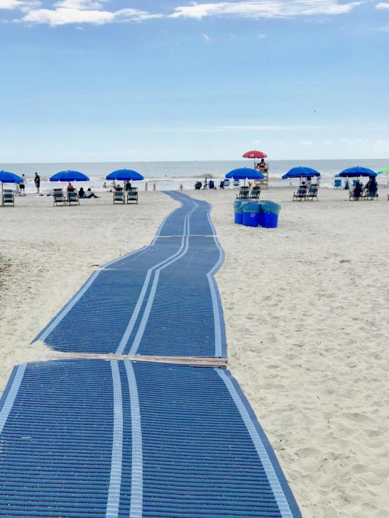 Cleanest public beach I've ever seen!