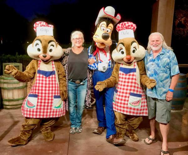 Disney's Fort Wilderness Mickey's Backyard BBQ