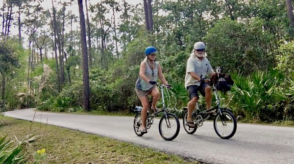 Disney's Fort Wilderness campground bicycling