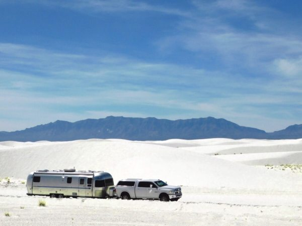 White Sands National Monument - Living In Beauty - Full-time Airstream traveling