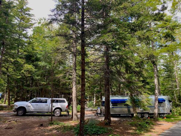 Acadia National Park Blackwoods Campground