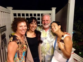 Barbara, Elizabeth and Marisol