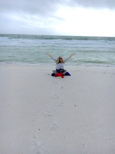 Carmen's coming 'home' to Pensacola Beach where she spent many years living on the Navy base when she was very young.