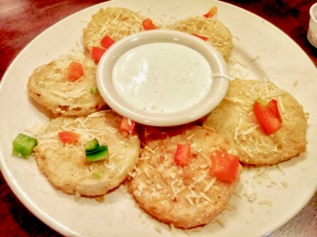 (Fried green tomatoes)
