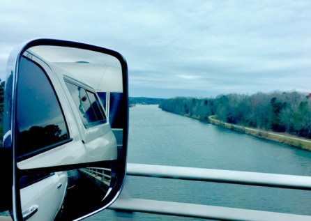 Crossing the Tennessee River