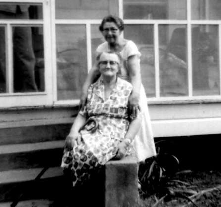 Jim's two grandmothers at the Port Gibson home