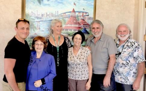 Chris Beaubeaux, Lillian Weldon, Patty Nicita, John Nicita