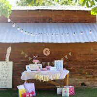 Grace's First Birthday | A Vintage Garden Party