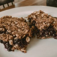 Vegan Blueberry Oatmeal Bake Recipe