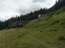 Fort Pré-Giroud sits high above Vallorbe