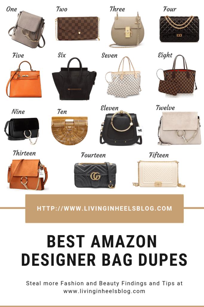 Best Amazon Designer Bag Dupes Living In Heels