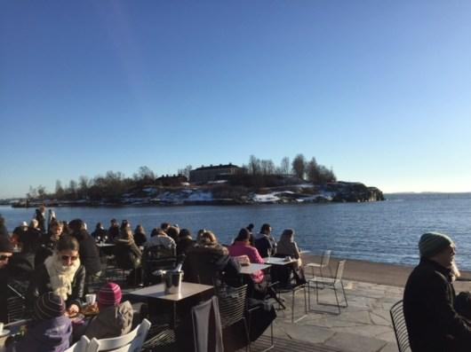Sunny Terrace in Helsinki