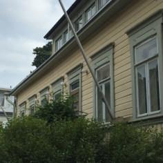 Wooden buildings Suomenlinna