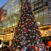 Christmas Tree at Abdali Boulevard