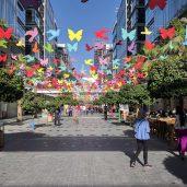Abdali Boulevard in Spring