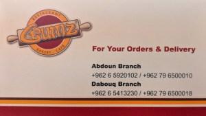 Crumz Business Card