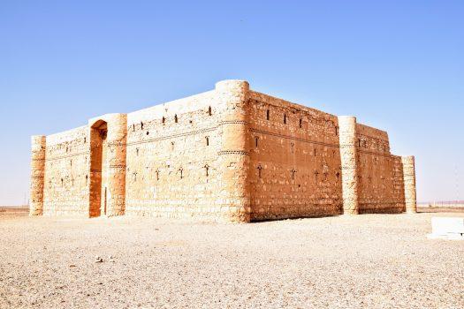 Desert Castle in Jordan