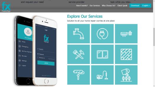 FixpertApp Screenshot