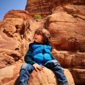 Kids in Petra