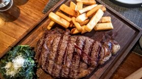 Lucca Steak House - Rib-Eye Steak