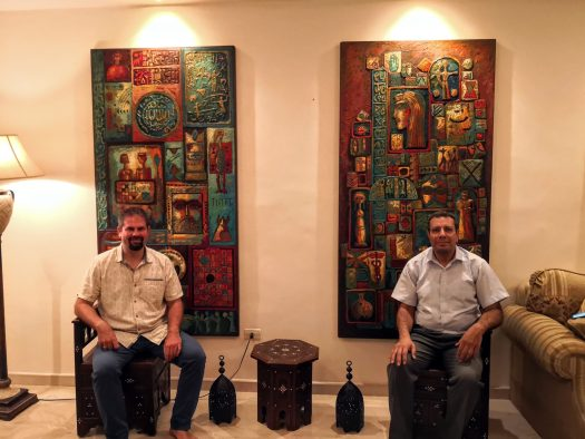 Artworks - Eyad Al-Masri - Jordanian Artist