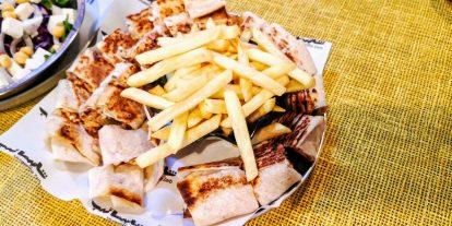 Shawerma Zarb - Triple Shawerma Sandwich