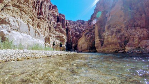 Entrance to Wadi Mujib, Jorddan