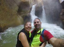 Wadi Mujib - Arrived at the Waterfalls