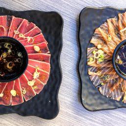 Sushi Den - Maguro Tatake & Salamon Usuzukuri