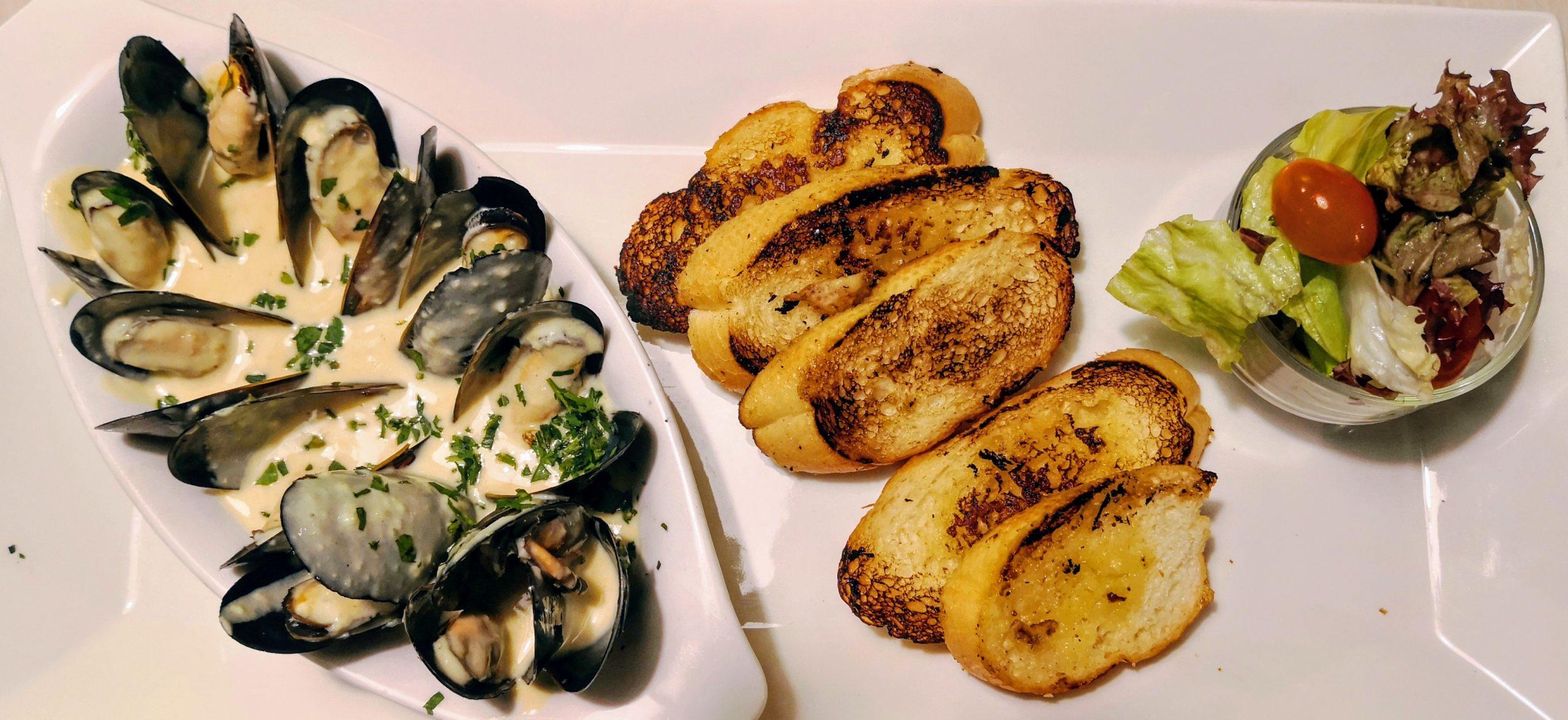 Manhattan Fish Market Amman- Mussels