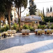 Jordan Heritage Restaurant - Courtyard at Afternoon