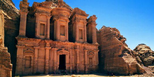 Monastery - Petra - one of the best spots in Jordan