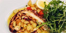Rotana Amman - Grilled Octopus