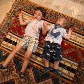 Moroccan Carpets - seems to make happy