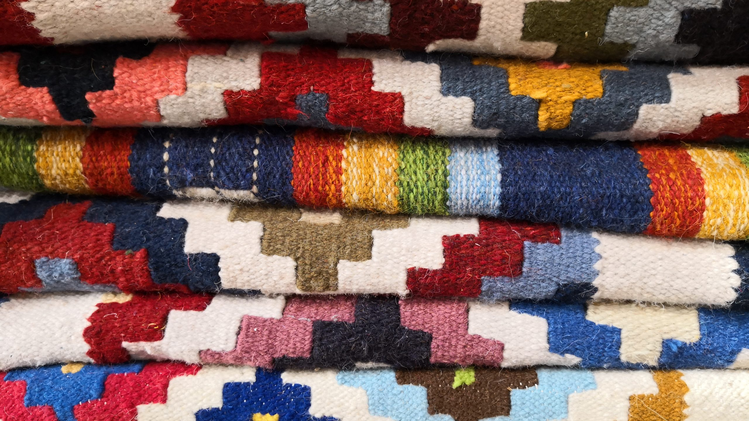 Colorful Rugs and Carpets